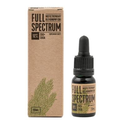Olejek konopny Full Spectrum CBD+CBDA 18%,10ml